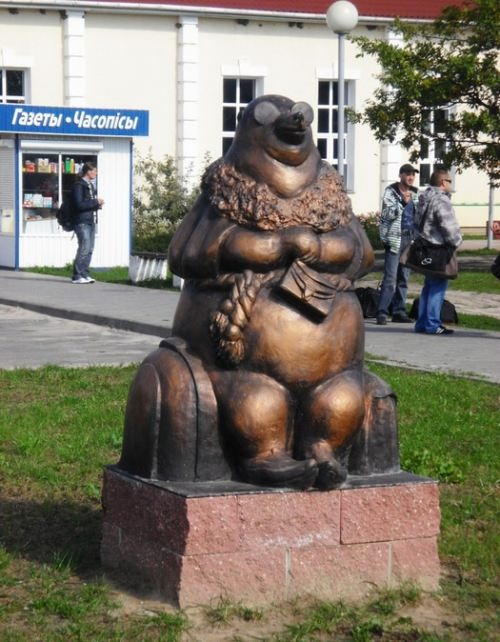 Mole sculpture