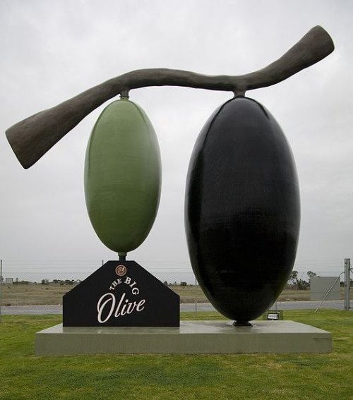 Monument to olive
