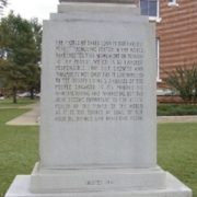 Monument to peanut in Blakeley, Georgia, United States