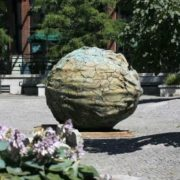 Monument to walnut in Vancouver, Canada