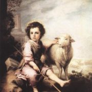Murillo, Bartolome Esteban - Christ the Good Shepherd