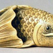 Netsuke of a Carp