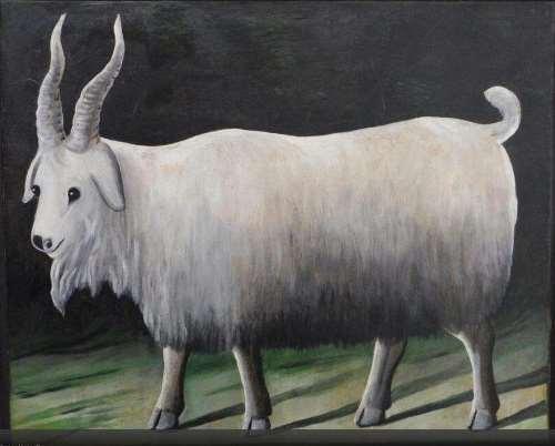 Niko Pirosmani. Goat