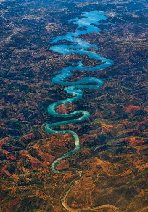 Odeleite River, Portugal. Photo by Steve Richards