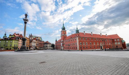 Palace Square of Warsaw