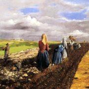 Pentelei Molnar Janos. The Potato Harvest.