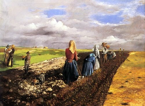 Pentelei Molnar Janos. The Potato Harvest.
