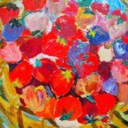Polyakova Lydia Fedorovna. Strawberry, 1978