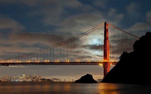 Pretty Golden Gate Bridge