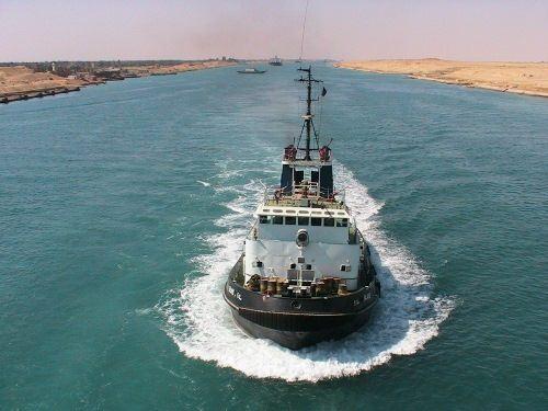 Pretty Suez Canal