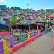 Rainbow Indonesian village of Kampung Pelangi