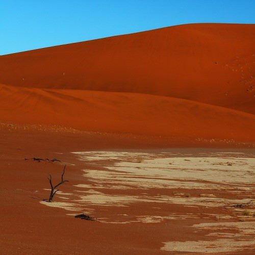 Red sand of Namibia