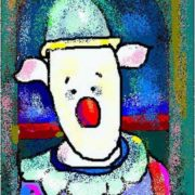 Sad Piglet-Pierrot. G. Rouault