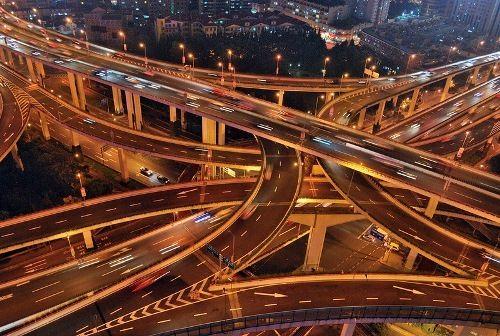 Shanghai roads