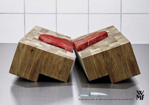 Sharp knives. Very sharp