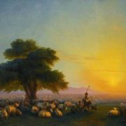 Sheep. Aivazovsky