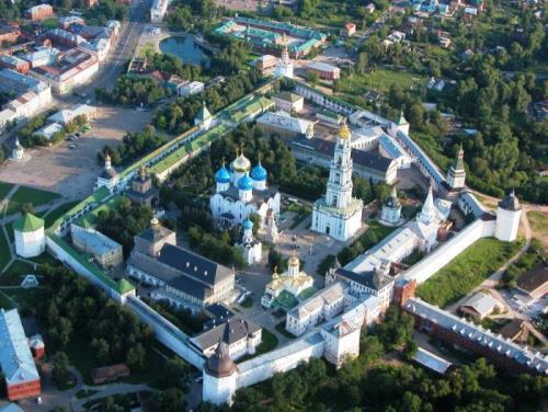 Stunning Trinity Lavra of St. Sergius