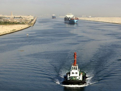 Suez Canal - Joining Two Seas for a Shortcut