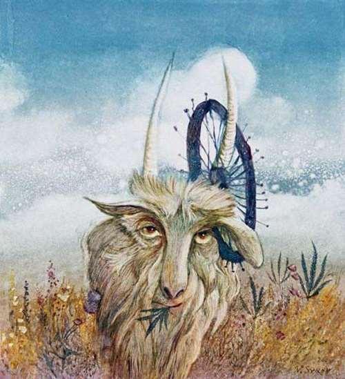 Syrov Valery. Goat