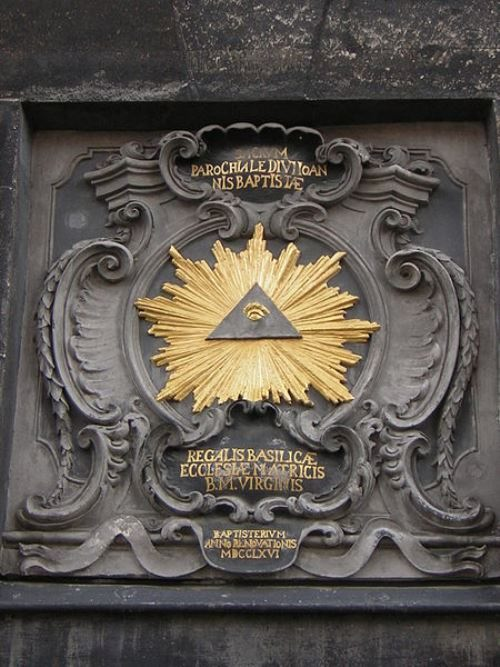 The All-Seeing Eye of the Aachen Cathedral