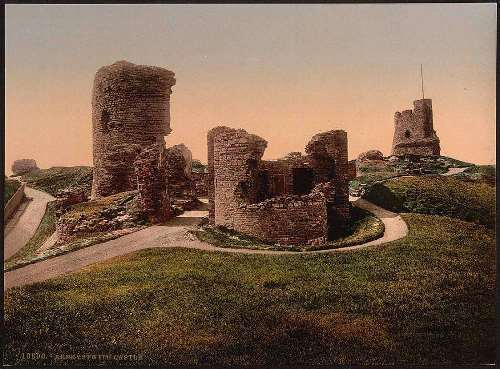 The castle, Aberystwith, Wales