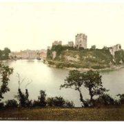 The castle, Pembroke, Wales