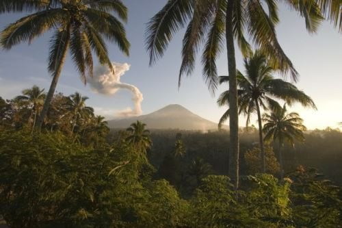 The island of Java. One of the favorite places of tourists