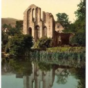 Valle Crucis Abbey, Llangollen, Wales
