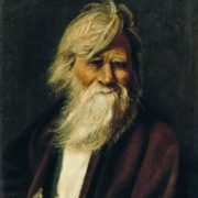 Vasily Maximov. Portrait of an old man