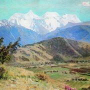 View of Belukha. 1925