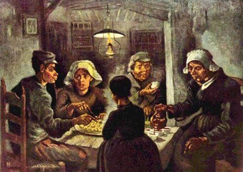 Vincent van Gogh. Potato eaters