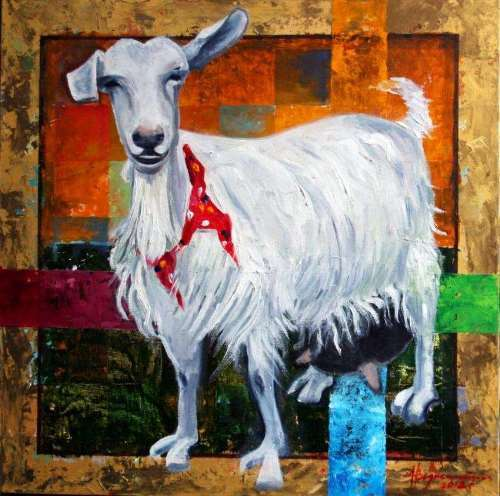 Voznesenskiy Aleksey. Wonderful goat