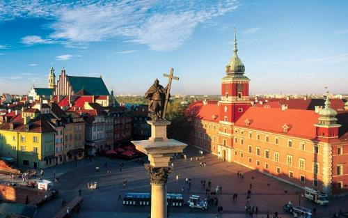 Warsaw is the central city of Poland