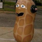 Wonderful monument to peanut