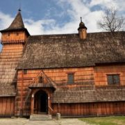 Wooden churches in the south of Lesser Poland