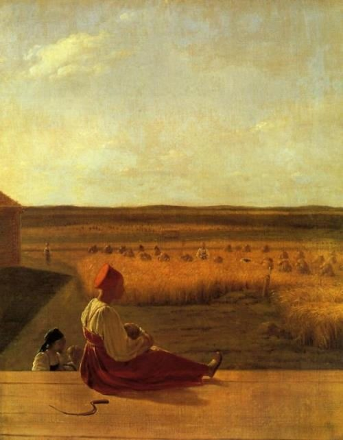Young lady-peasant woman