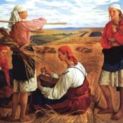 Zinaida Evgenievna Serebryakova, The Harvest. 1915