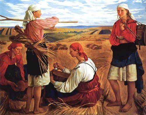 Zinaida Evgenievna Serebryakova, The Harvest. 1915