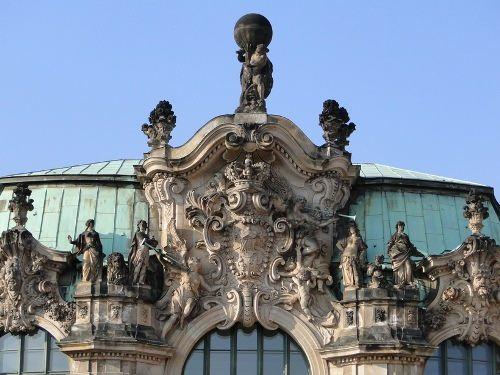 Zwinger Wallpavillon Detail