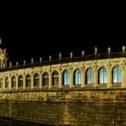 Zwinger at night