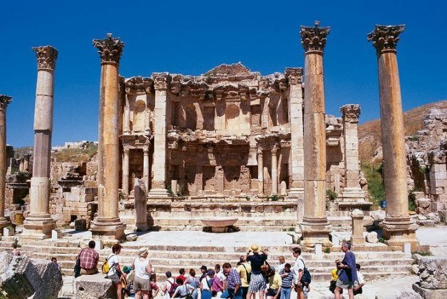 Ancient city Jerash