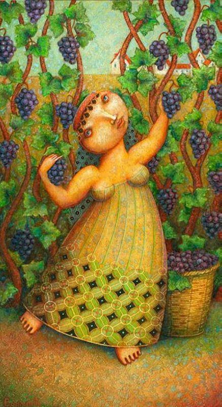 Aren Harutyunyan, Grape harvest. 2012