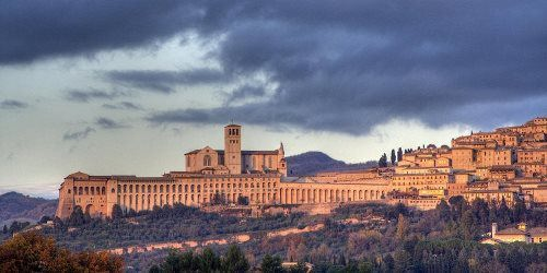 Assisi - city in the mountains