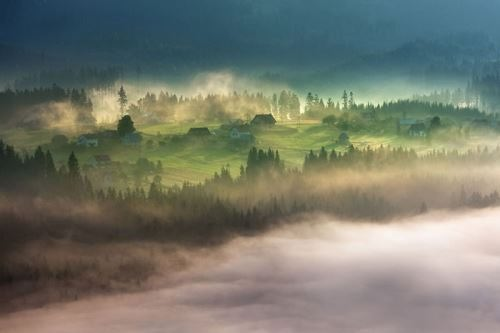At the dawn. Photo Marcin Sobas