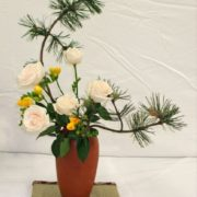Attractive ikebana