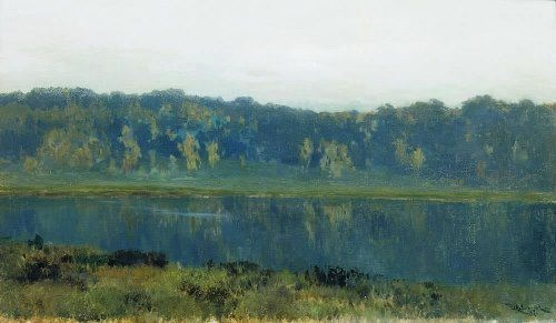 Autumn morning. Fog. Isaac Levitan