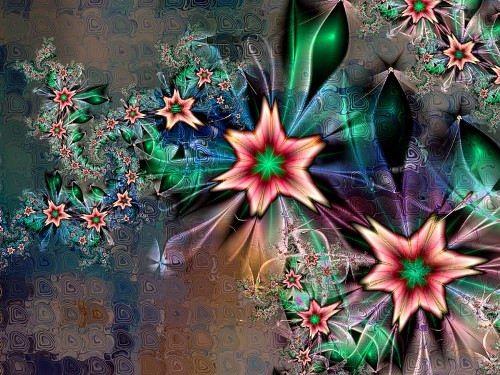 Charming fractals by Titia Vanbeugen