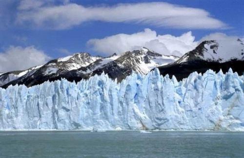 Charming glacier