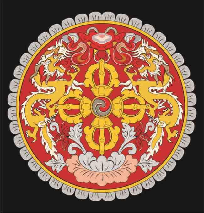 Coat of arms of Bhutan