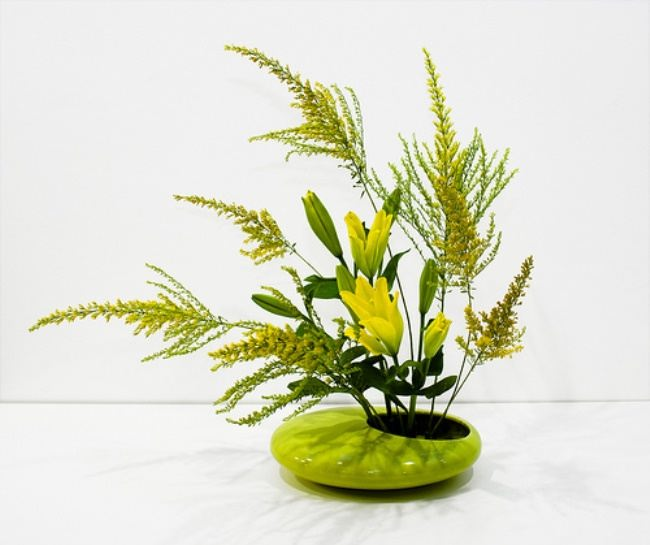 Cute ikebana